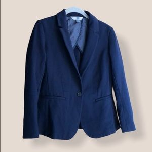 Old Navy navy blue one-button blazer size Small